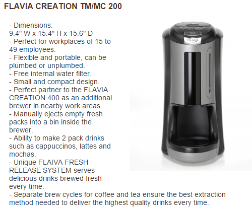 Flavia Creation TM-MC200 picture