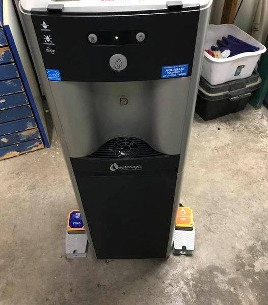 handless hands-free water coolers aquasani springfield mo missouri lake of the ozarks pedal water coolers for home for office