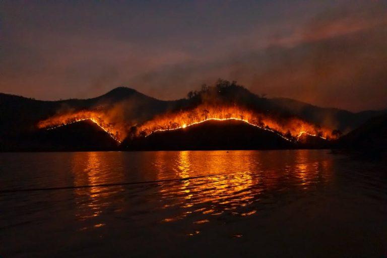 wildfires drought western states California water supply drinking water Ozarks contaminants runoff mudslides Aquasani well water